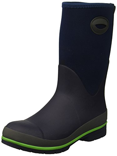 Western Chief Kid's Cold Rated Neoprene Memory Foam Snow Boot, Navy, 12 M US Little Kid