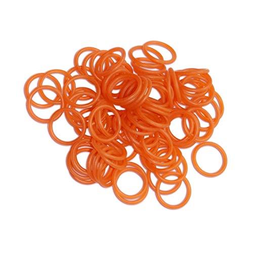 XICION Neue Polyurethan-O-Ring 50pcs & 100pcsco2 / HPA/Luft-Paintball-Tank (AS568-015 / rot) (Größe : 50 Pieces)