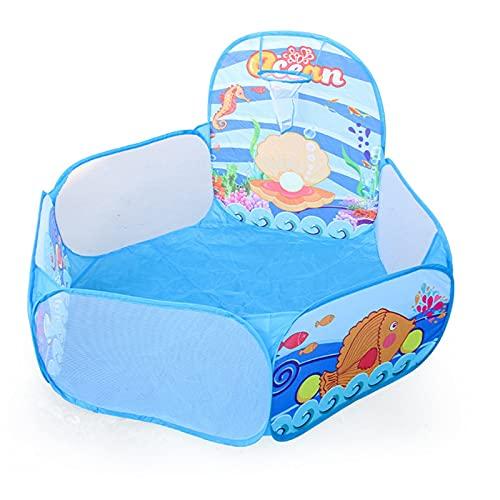 PrittUHU Bebé Play Tent portátil Plegable Plegable Tienda niños Jugar House al Aire Libre Juguetes Tiendas Castillo océano Bola Piscina (Color : 3)