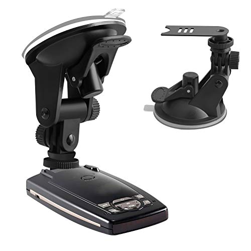 YeeBeny Suction Radar Detector Mount, Windshield & Dashboard Radar Holder Compatible with Escort Passport 9500ix 7500 X50 X70 X80 Solo SC S2 S3 s75 Beltronics RX65 GX65 Red (Not for Escort IX & MAX)