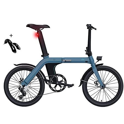 Bicicleta de montaña,Bicicleta Adulto FIIDO D11, Bicicletas electricas Plegables,Bicicletas Mujer montaña 20
