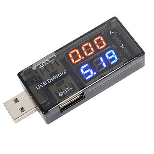 AMAA USB電流電圧テスター チェッカー 電源メーター電圧モニター