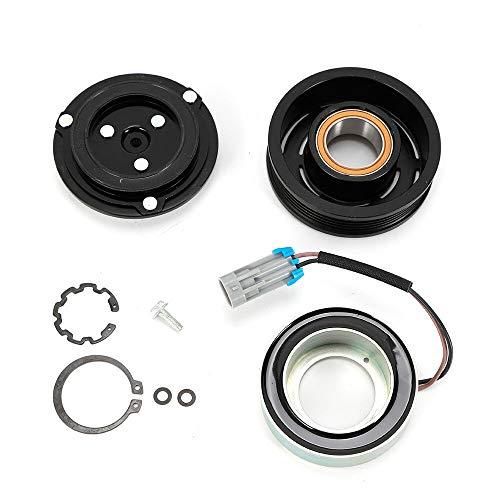 Kit de compresor de aire acondicionado para coche, con polea y buje Cluth apto