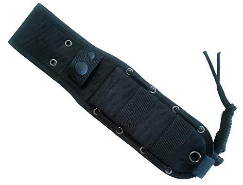 JEO-TEC Messerscheide - Nylon Scheide für Bushcraft Messer Überlebensmesser Jagdmesser