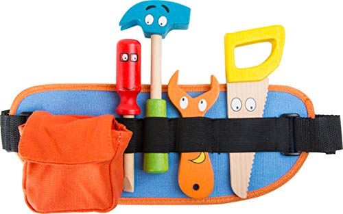 Small Foot - 10318 - Ceinture Porte - Outils - Rouge