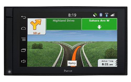 Parrot Asteroid - Navegador GPS inteligente con pantalla retráctil (mapa de Francia, 16:9)