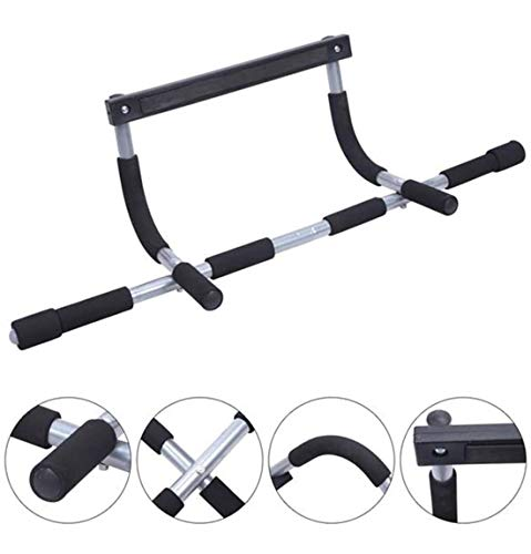 SRQLC Iron Gym Pull Up Sit Up Door Bar Portable Chin-Up para la Puerta de Entrenamiento de la Parte Superior del Cuerpo