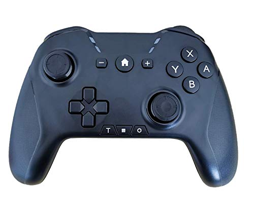 Wireless Pro Controller Compatible with Switch Controllers with Turbo Function Game Controller Gamepad Joypad Joystick for Switch Console Gyro Axis Motion Control Dual Vibration