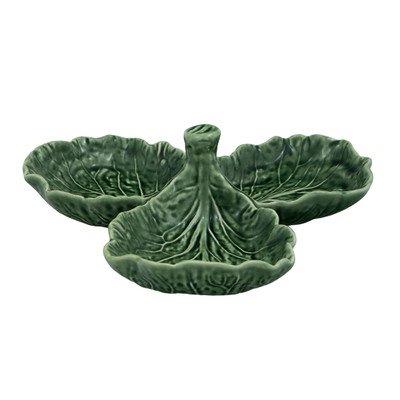 Bordallo Pinheiro Cabbage Olive Dish