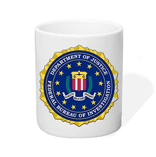 P-T-D F.B.I. Tasse Kaffeetasse Kaffeebecher