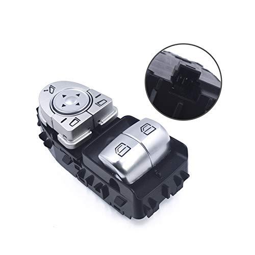 ZHIXIANG Nueva Elevalunas Interruptor del Lado del Conductor de Ajuste for el Mercedes-Benz Clase C W447 Vito Viano C43 C63 C180 A2059050302 2059057011