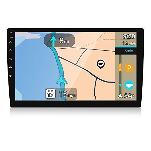 YUNTX PX6 Android 10 Universal Autoradio - 4G+64G - 9 Pulgada Pantalla IPS - Cámara Trasera &Map Gratis - Soporte Dab/GPS/Mandos de Volante/USB / 4G / WiFi/Bluetooth 5.0 / MirrorLink/Carplay