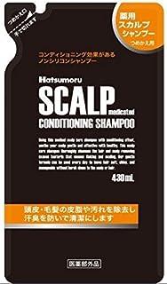 ハツモール 薬用スカルプシャンプー 【詰替用 430mL】