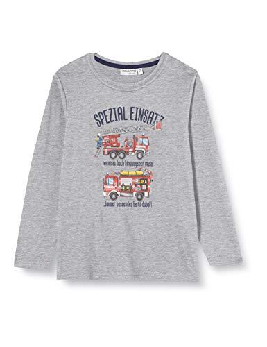 Salt & Pepper Jungen 05111138 Hemd, Grey Melange, 116/122