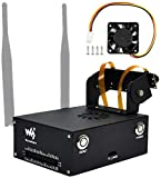 Jetson Nano Metal Case with 5V Cooling Fan Compatible with NVIDIA Jetson Nano Developer Kit B01 (4GB),with Camera Holder Reset,Power Button,for Waveshare IMX219 Series Camera,Wireless-AC8265