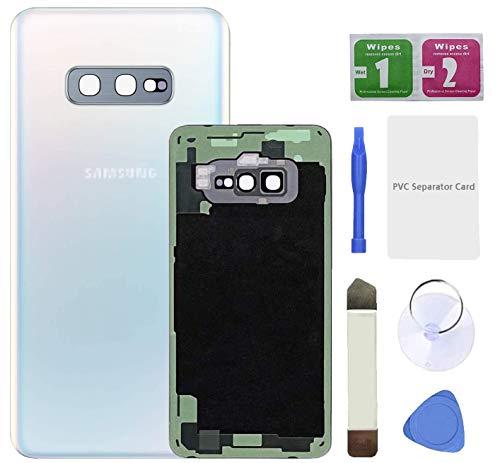 Eonpam Tapa batería Vidrio Trasera Reemplazo para (Samsung Galaxy S10e) Kit reparación...