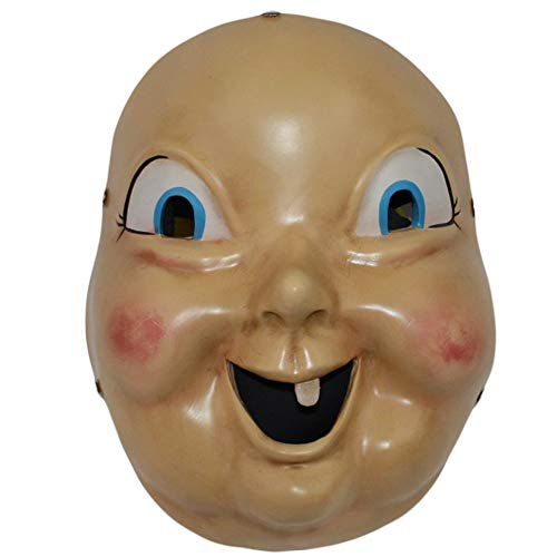 Horrorfun Halloween-Maske, Happy Death Day, Gruselige Puppe Rollenspiele, Film Cosplay, Harz