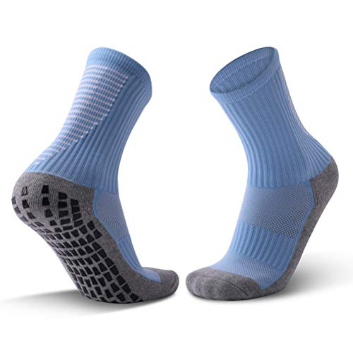 HONEY WYJ Socken Dickes Handtuch Bottom Schlauch-Socken Adult rutschfeste Verschleißfeste Fußballsocken Komfortable atmungsaktive Sportsocken Deodorant Sweat-saugfähig Wandersocken (Color : C)