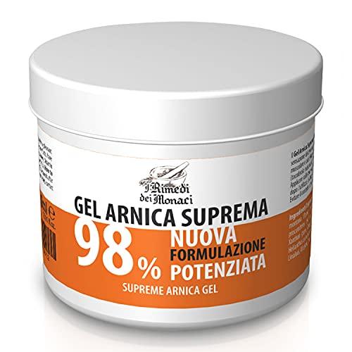Arnika 98% | 500ML | das konzentrierteste Arnikagel auf dem Markt Mit Extrakten aus Lavendel, Minze, Gaulteriaöl, Vitamin E | Arnica Muskel Beruhigende Creme