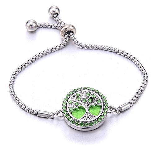 YUNLAN Ladies Bracelets, Jewelry, Adjustable Chains, Crystals, Tree Of Life, Ladies Hand Bands Decorative Bracelets bracelet (Color : 1)