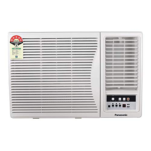 Panasonic 1.5 Ton 5 Star Window AC (Copper, PM 2.5 Filter, 2020 Model, CW-XN181AM White)