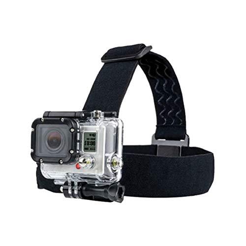 Elastisches Kopfband,Verstellbarer Kopfgurt Mount Kinngurt Verstellbare Action Cam Halterung für Action Camera Rutschfester Sportkamera Befestigungsgurt
