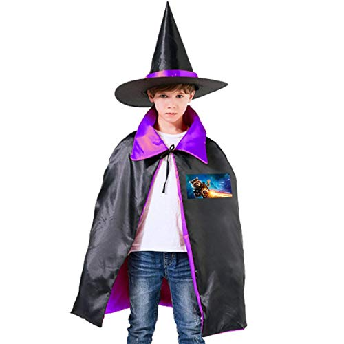 NUJSHF Guardianes de la Galaxia Groot Unisex Niños Capa con Capucha para Halloween Decoración de Fiesta rol Cosplay Disfraces Outwear