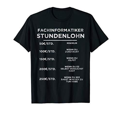 Herren Fachinformatiker Programmierer Informatik C++ Php Geschenk T-Shirt