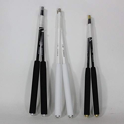Sundia Carbon Fiber Diabolo Sticks (Black, 35)