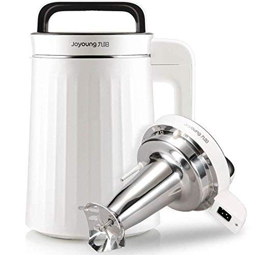 Joyoung Automatic Soy Milk Maker DJ13U-G91 With Warming Function,Stainless Steel,900-1300 ML,Nut...