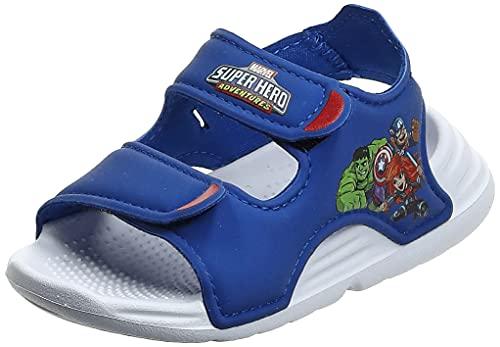 adidas Swim Sandal I, Sandalias Deportivas Unisex niños, AZUREA/FTWBLA/Rojint, 20 EU