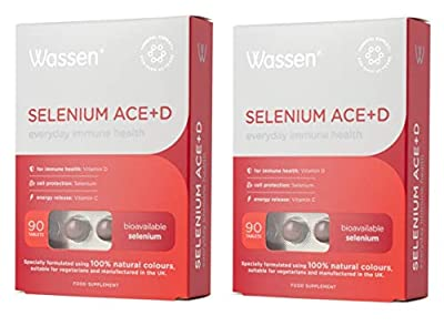 Wassen Selenium Ace 90 Tablets X 2 (Pack of 2) by Wassen