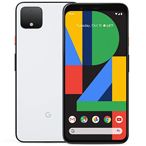 Google Pixel 4 XL 64GB Handy, weiß, Clearly White, Android 10