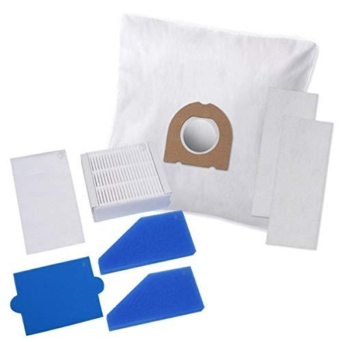 Hochwertiges Spar-Set - 5 Staubsaugerbeutel + Filterset- Für Thomas Aqua Pet & Family Anti Allergy uvm. - Bestleistung beim Saugen
