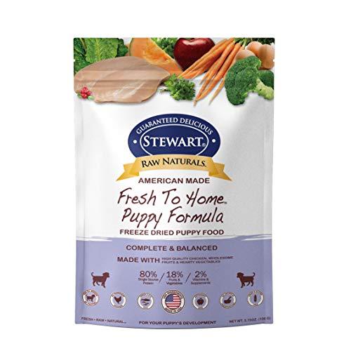 Stewart Raw Naturals Freeze Dried Puppy Food Grain...