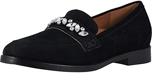 Vionic Women's Wise Avvy Loafer - Ladies Slip-on with Concealed Orthotic Support Black