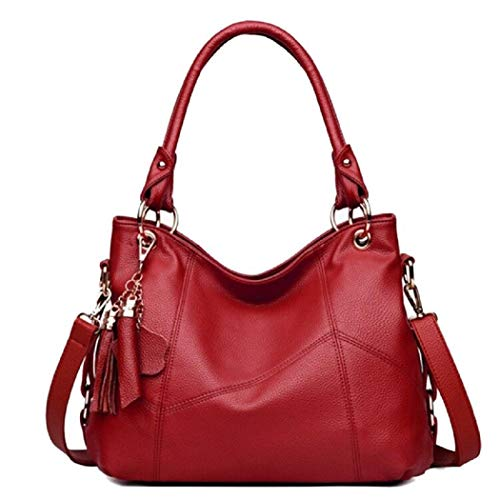 Vintga Women's Leather Handbags Shoulder Tote Bag -$21.12(58% Off)