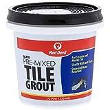 Red Devil 042260 Pre-Mixed Tile Grout, Black