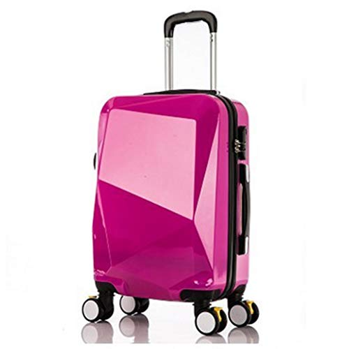 LLRDIAN Hand Carry-on Suitcase Luggage Bag Luggage Suitcase Hand Luggage Hard Shell Luggage Lightweight Hand Luggage Suitcase (Color : Pink, Size : 40.5×28×59cm)