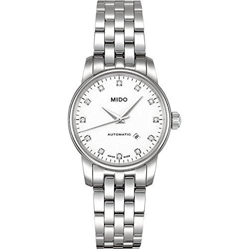 Mido Damen-Armbanduhr XS Baroncelli Analog Automatik Edelstahl M76004661