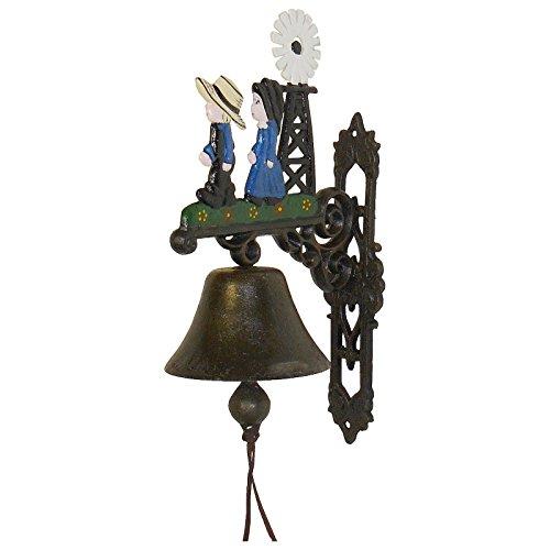 Luxe Pur UG deurbel bel bel molen windmolen deurbel klemmen kinderen nostalgie deur decoratie tuin