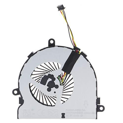 TRADOCK Ventilador de CPU para HP 15-AC 15-AF 15-AY 15-BA 250 G4 255 G4 255 G5 DC28000GAD0
