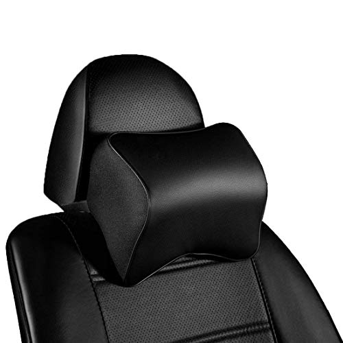Calcifer® 1 pcs NEUF Mode confortable en mousse à mémoire Tête de massage de voiture cou Oreiller appuie-tête de siège