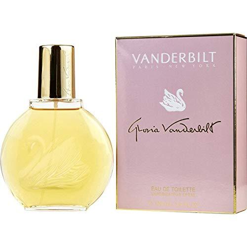 Vanderbilt para mujeres de Gloria Vanderbilt – 100 ml Eau de Toilette Spray