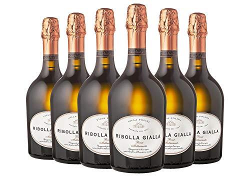 Ribolla Gialla Brut Villa Folini 2019 6 bottiglie da 0,75 L