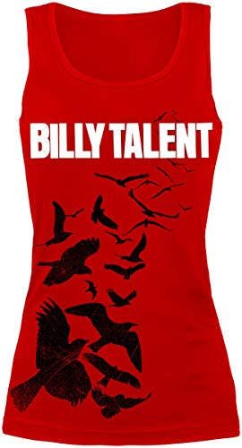 Billy Talent Red Birds Frauen Top rot S 100% Baumwolle Band-Merch, Bands