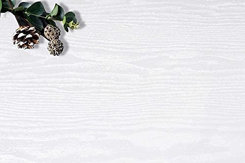 118''x17.7'' White Wood Peel and Stick Wallpaper White Shiplap White Wood Contact Paper White Wood Wallpaper White Wood Removable Wall Paper White Wood Plank Self Adhesive Wallpaper Shelf Drawer Liner