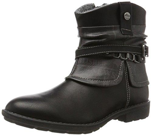 s.Oliver Damen 55402 Stiefel, Schwarz (Black), 39 EU