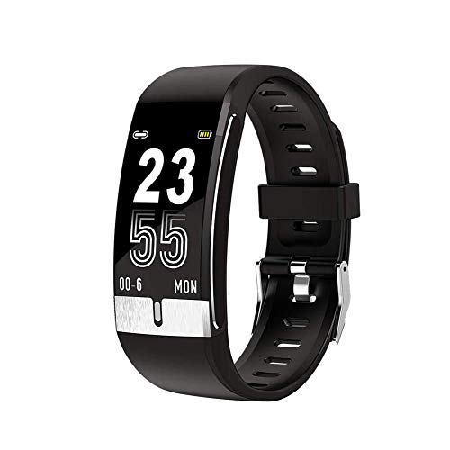 MV E66 Smartwatch| Health Fitness Activity Tracker, Electrocardiogram Blood Pressure, Blood Oxygen, Multi-Sport Mode, Temperature Measurement| Compatible with Android & iOS for Unisex