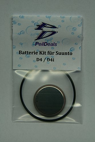 PeilDeals Batterie-Set/Kit für Tauchcomputer SUUNTO D4 / D4i